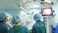 222 ca phẫu thuật đã thực hiện thành công bằng robot