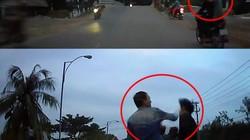 """Clip: Hai thanh niên chạy xe lạng lách, chặn đầu ô tô và cái kết """"đắng"""""""