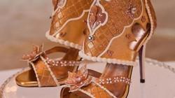 Choáng: Giày cao gót nạm kim cương vàng miếng, giá đắt hơn cả siêu biệt thự
