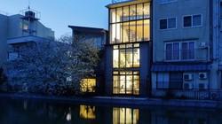 Biệt thự 3 tầng kiểu Nhật đơn giản mà đẹp miễn chê