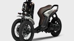 Yamaha 03GEN-X: Xe ga ba bánh độc đáo cho tương lai