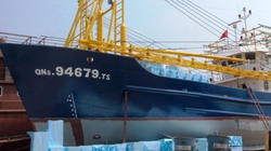 Chính thức thay máy mới cho tàu 67 nằm bờ 2 năm ở Quảng Nam
