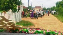 Tiếp tục thu nợ gia đình bị chặn xe dâu đòi tiền làm đường NTM