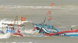 Thiệt hại đầu tiên do bão số 12: 9 tàu gặp nạn, 11 thuyền viên chìm xuống biển