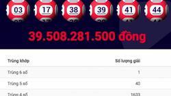 """Xổ số Vietlott lại xác định một giải jackpot """"khủng"""""""