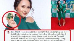 """Bảo Thanh phản hồi fan vụ đại sứ công ty """"11 tỷ mỹ phẩm nghi giả"""""""