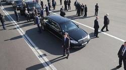 Siêu xe chống đạn S600 đắt giá ông Putin đem đến Việt Nam