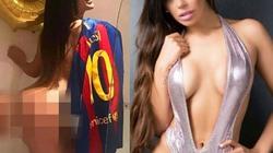 """Hoa hậu siêu vòng 3 Brazil lại """"cởi đồ"""" để thổ lộ tình yêu với Messi"""