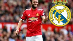 """Bị HLV Mourinho """"ngó lơ"""", Mata """"tái hôn"""" với Real Madrid?"""