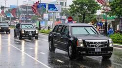 """Dàn xe """"Quái thú"""" của ông Trump chạy trên phố Việt Nam có gì đặc biệt?"""