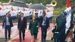 Hình ảnh ấn tượng tại lễ đón Tổng thống Chile ở Phủ Chủ tịch