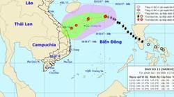 """Bão số 13 nguy cơ """"chết yểu"""", hướng vào Quảng Trị đến Thừa Thiên Huế"""