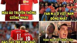 ĐT Việt Nam giống M.U, Ronaldo thích vòng 3 lớn