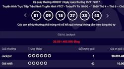 """Xổ số Vietlott: 2 ngày 2 người trúng jackpot """"khủng"""""""