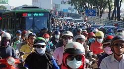 TP.HCM: Hình ảnh không ngờ tại cầu vượt thép trong ngày đầu thông xe