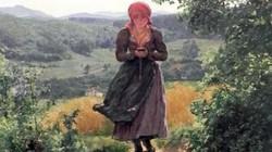Iphone từng xuất hiện trong bức tranh từ năm 1860 vẽ cô gái