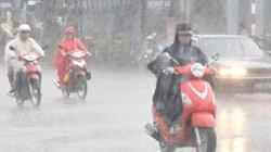 Không khí lạnh gây mưa to cho miền Trung