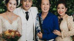 Nghệ sĩ cải lương đình đám Vũ Linh tái ngộ Thoại Mỹ trong đám cưới cháu gái
