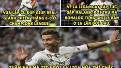 """ẢNH CHẾ (25.11): Ronaldo """"vớ bẫm"""", V.League siêu kịch tính"""