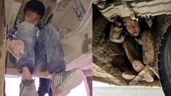 2 bé trai TQ liều mạng, bám gầm xe buýt 3 tiếng đi tìm bố mẹ