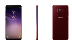 Samsung Galaxy S8 đã có sẵn trong màu đỏ Burgundy Red sang trọng