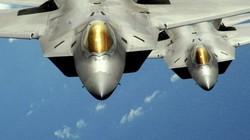 Đội tiêm kích F-22 không đối thủ của Mỹ rầm rập đến gần Triều Tiên