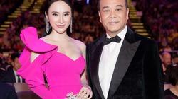 """Angela Phương Trinh gợi cảm hội ngộ """"vua hài TVB"""" Âu Dương Chấn Hoa"""