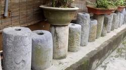 Chuyện lạ ở nông thôn: Hàng trăm nồi đồng, cối đá, mõ trâu lên ở chùa