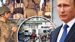 Máy bay ném bom tầm xa của Putin nã bom phá huỷ kho vũ khí IS