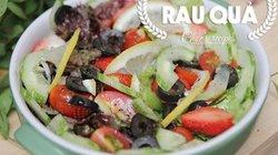 """Cách làm salad rau xanh ăn """"thả ga"""" mà không béo"""