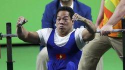 Lực sĩ Lê Văn Công giành HCV, phá kỷ lục cử tạ thế giới Người khuyết tật