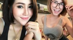 Xôn xao quán cà phê toàn hot girl ngực khủng ở Thái Lan