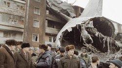 """Máy bay Nga """"Ruslan"""" rơi: Bí ẩn tai nạn khủng khiếp"""