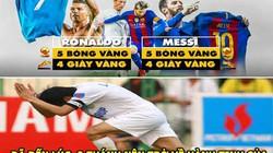 ẢNH CHẾ HÔM NAY (8.12): Ronaldo và Messi nên rời khỏi Trái Đất