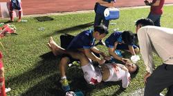 Vô địch giải U21, cầu thủ HAGL suýt phải đi cấp cứu