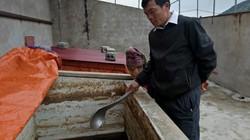 Lần đầu tiên ủ thành công nước mắm cực ngon từ cá lòng hồ sông Đà