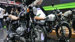 Phát thèm xế nổ cổ điển Kawasaki W250 vừa ra mắt