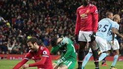 """Lukaku 2 lần """"kiến tạo"""", M.U thua cay đắng Man City"""