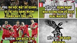 ẢNH CHẾ HÔM NAY (12.12): PSG tức hộc máu, Bayern cười hả hê