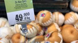 Sốc: Lê Hàn Quốc giá rẻ giật mình, vừa mua vừa ngại