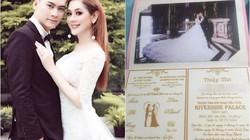 Những mẫu thiệp cưới có một không hai của sao Việt