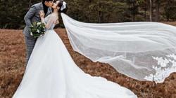 """Ảnh cưới lãng mạn như phim của diễn viên """"Cánh đồng bất tận"""""""