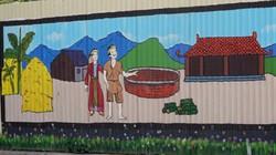 Clip: Biến bức tường tôn thành triển lãm tranh lộ thiên ở Hà Nội