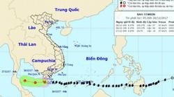 """Tin bão mới nhất: Bão số 16- Tembin đã """"chết"""" yểu và suy yếu thành áp thấp nhiệt đới"""