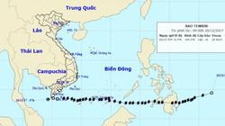 Tin cuối cùng về bão số 16- Tembin: Bão đã suy yếu và tan dần, miền Nam thoát liền 2 cơn bão