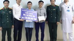 Báo Dân Việt trao tiếp 150 triệu đồng bạn đọc ủng hộ bé Lô Văn An