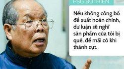 Sau 'bão' dư luận về cải tiến tiếng Việt, PGS.Bùi Hiền thấy vui vui