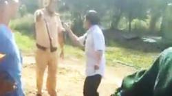 Làm rõ vụ cảnh sát giao thông bị tài xế tố truy đuổi, đập vỡ kính ôtô
