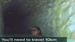 Lạc giữa suối nước nóng đẹp lung linh ẩn náu trong hang động