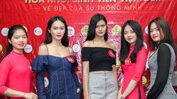 Nhiều gương mặt khả ái lộ diện ở cuộc thi Hoa khôi sinh viên 2018